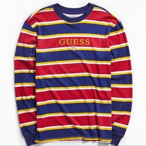 Guess striped long sleeve shirt
